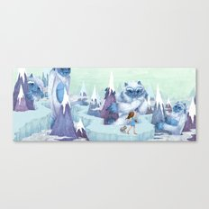 The Monstrous Mountains Canvas Print