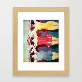 Last Summer Framed Art Print