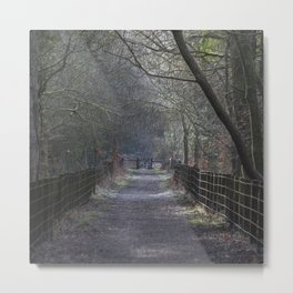 Track to the Gate Metal Print