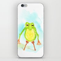 phil jones iPhone & iPod Skins featuring Pegleg Phil by Taylor Winder