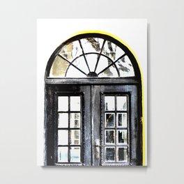 The Old School Door Metal Print