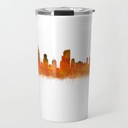 Chicago City Skyline Hq v2 Travel Mug