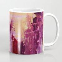 skyline Mugs featuring Skyline by Stephanie Cole CREATIONS