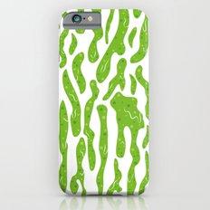 Splattered Slime [WHITE] Slim Case iPhone 6s