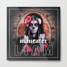 maneater Metal Print