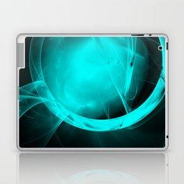 Through the glowing glass portal Laptop & iPad Skin