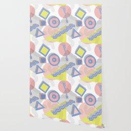 Memphis Geometric Pattern Wallpaper