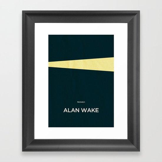 Remedy's Alan Wake Framed Art Print