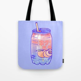 Peach Bubbles Tote Bag