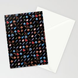 A Hero's Arsenal (Black) Stationery Cards