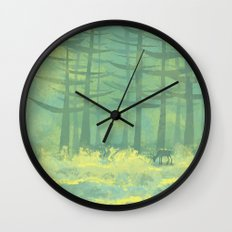 The Clearing Wall Clock