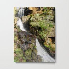 Lumsdale waterfall 2 Metal Print