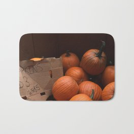 Pumpkins In a Box! Bath Mat