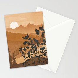 Growth over the high mountain Stationery Cards