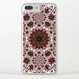 A Day For Wine And Roses Clear iPhone Case