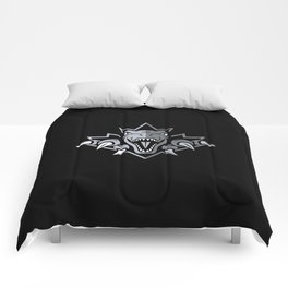Dino Silver Leaf Comforters