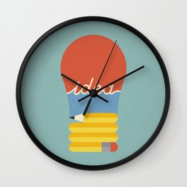 I've Got An Idea Wall Clock