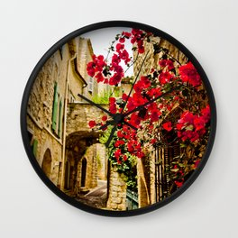 Provincial France Wall Clock