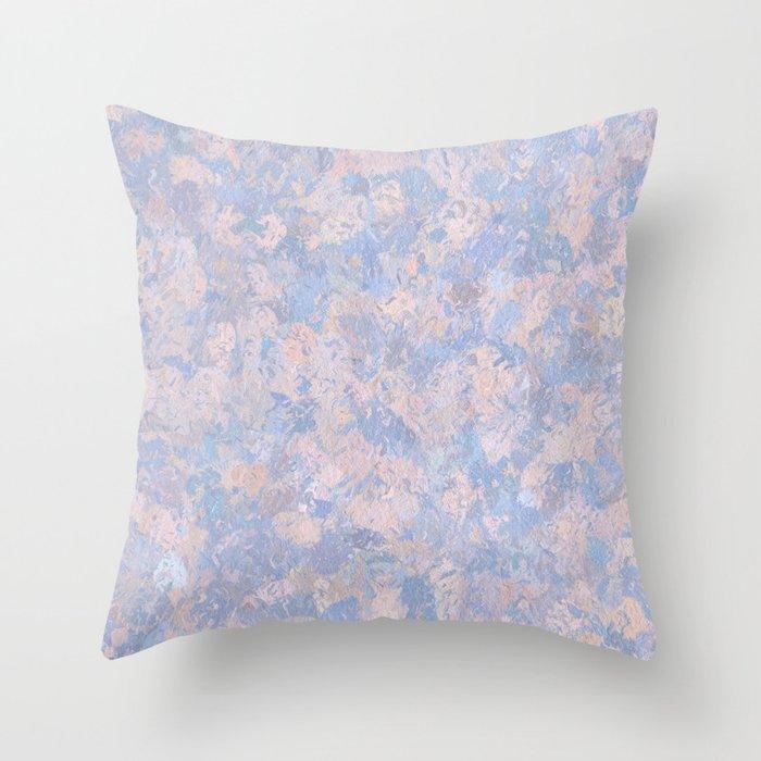 Rose Quartz and Serenity Blue 4644 Throw Pillow