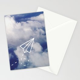 Paper Plane Stationery Cards