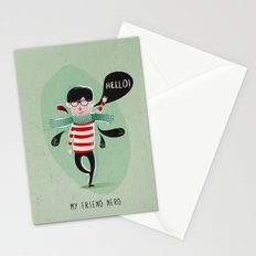 MY FRIEND NERD Stationery Cards
