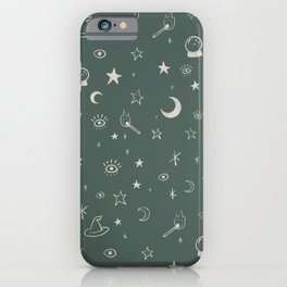 Witchy Season iPhone Case