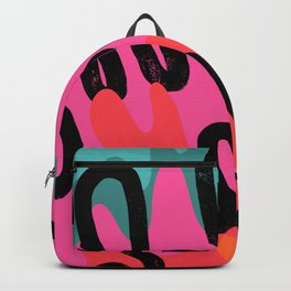 Pattern Love Backpack