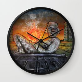 Chacmool Wall Clock