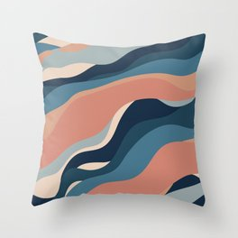 shaps pattern Throw Pillow