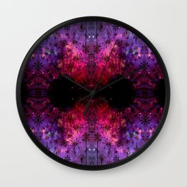 Snow in the Moonlight Wall Clock