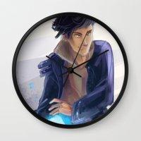 bane Wall Clocks featuring Magnus Bane by taratjah
