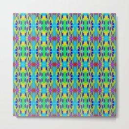 Ribbon Pattern 2 Metal Print