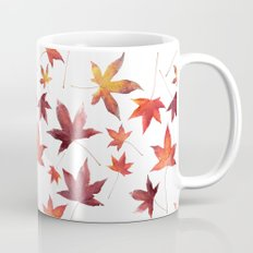 Dead Leaves over White Mug