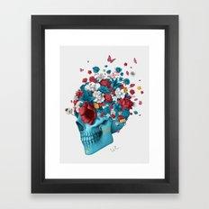 Skull Life Framed Art Print