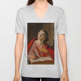 "Frans Hals ""Saint John the Evangelist"" Unisex V-Neck"