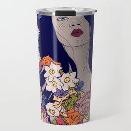 Spring Beauty Travel Mug