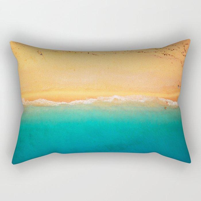 Beach Line Rectangular Pillow
