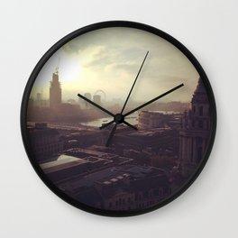 London Mornings Wall Clock