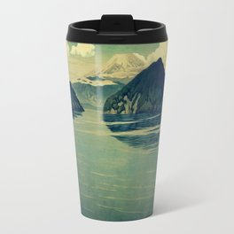 Distant Blues Travel Mug