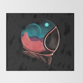 Space Adventure Throw Blanket