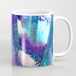Moonlight Starfall Panda Coffee Mug