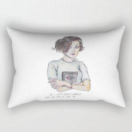 audrey horne Rectangular Pillow
