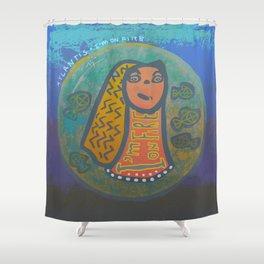 Atlantis Icon / I'm on Fire! Shower Curtain
