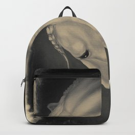 Lusitano Horse Litho equine art Backpack