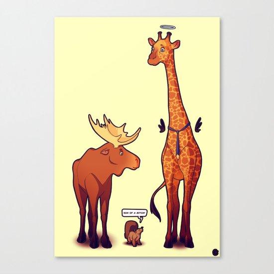 Supernatural Animals Canvas Print