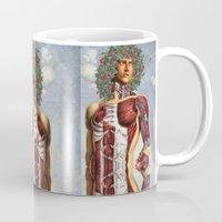 apollo Mugs featuring Apollo by DIVIDUS