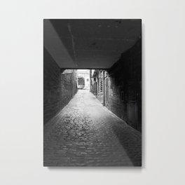 Side street Edinburgh Metal Print