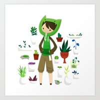 plants Art Prints featuring Plants by Zennore