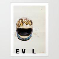 EV L Art Print