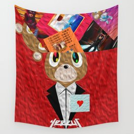 Hip Hop KanyeWest Compilation Wall Tapestry